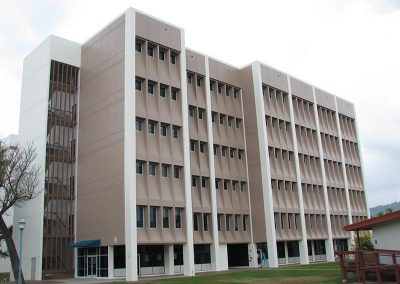 Structural Repairs at Honolulu CommunityCollege