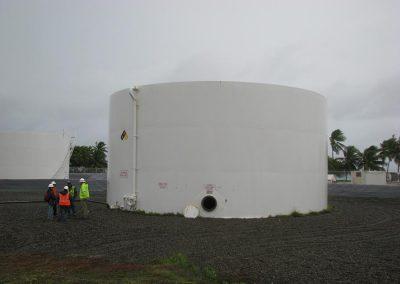Kwajalein Atoll Fuel Tank Repairs