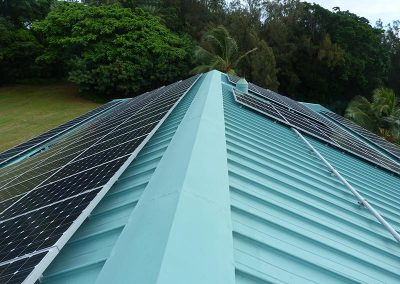 University of Hawaii Coconut Island New Paulay Laboratory Building Reroofing