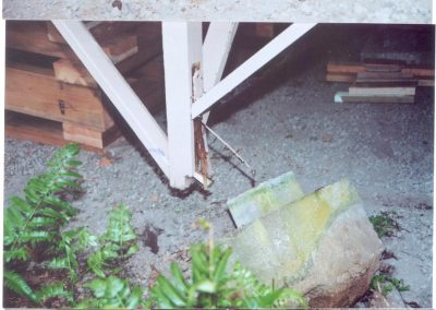 Post & Pier Earthquake Damage Investigation & Retrofits, Island of Hawaii